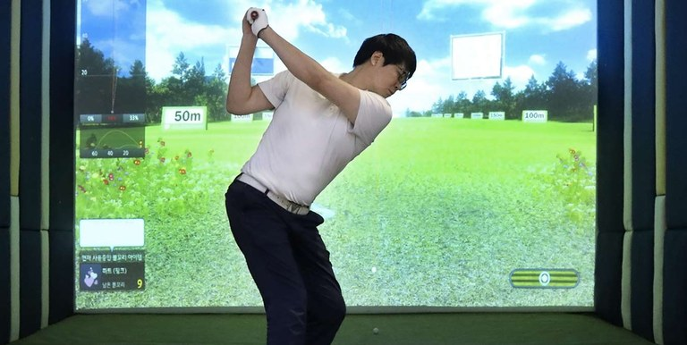 Golfing simulators