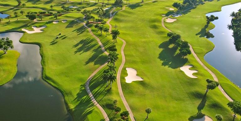 Golf resorts travel